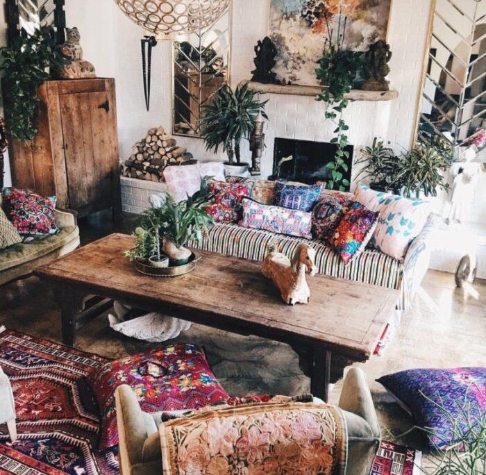 Eclectic Bohemian Home - Judy Aldridge