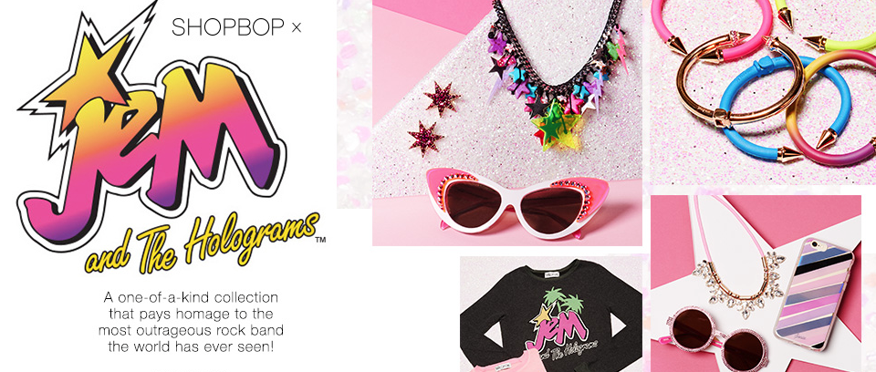 Jem and the Holograms collections at shopbop
