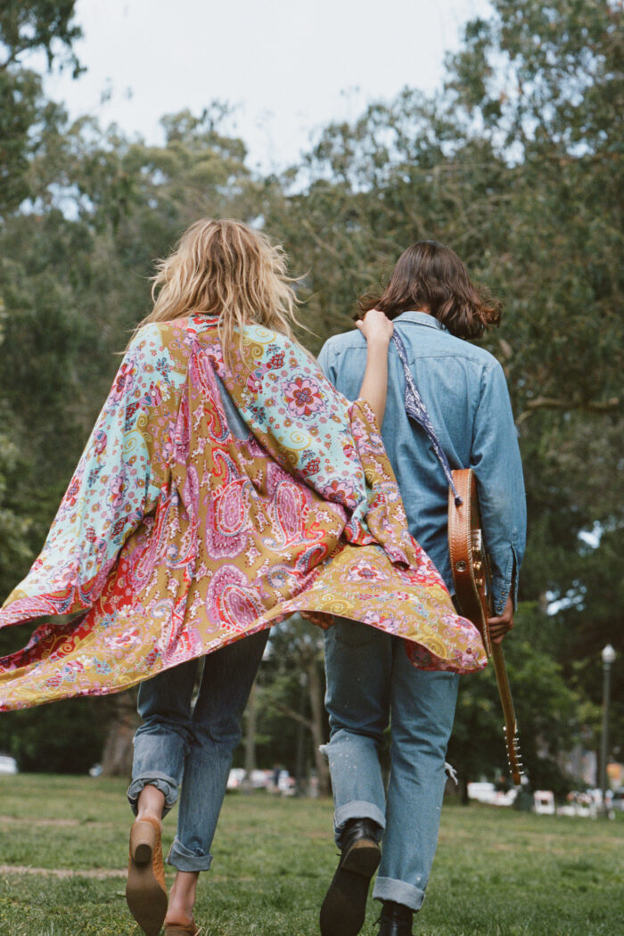 retro - hippie style
