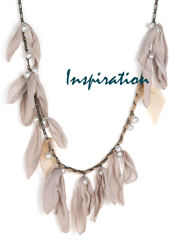 DIY Lanvin pearl chain necklace Inspiration