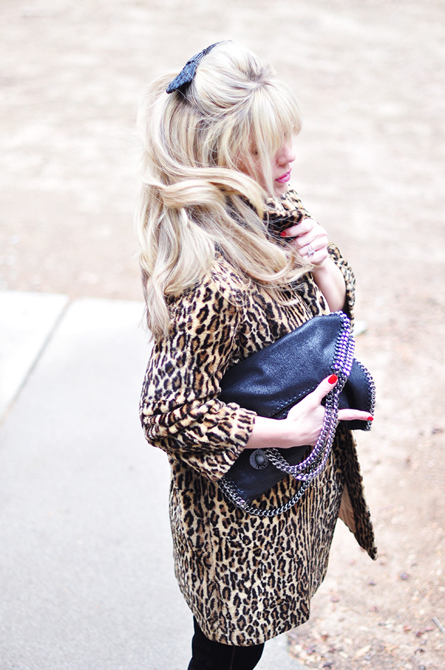 Leopard Coat_Hair with bow