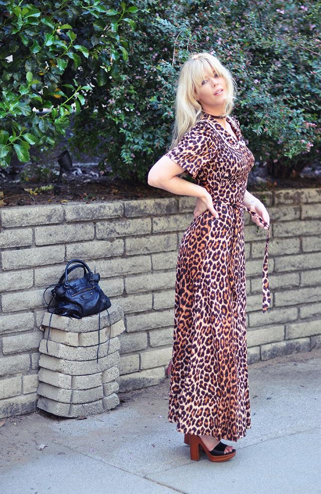Leopard dress_balenciaga bag_marni platforms-70s style+90s style