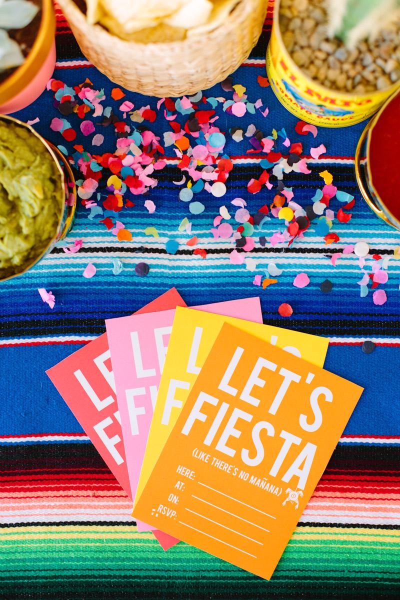 Lets Fiesta Invitations