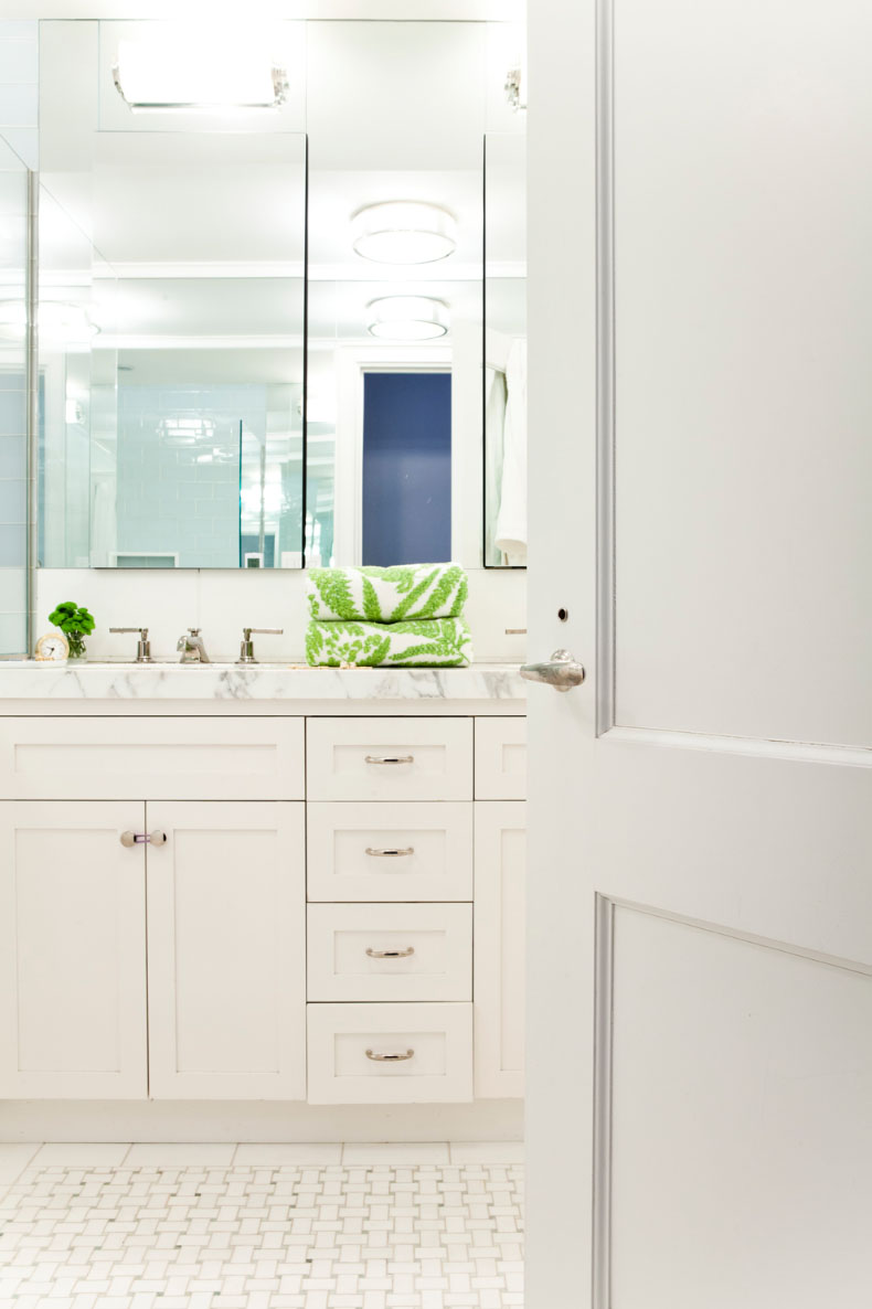 Lilly Bunn Interiors bathroom clean
