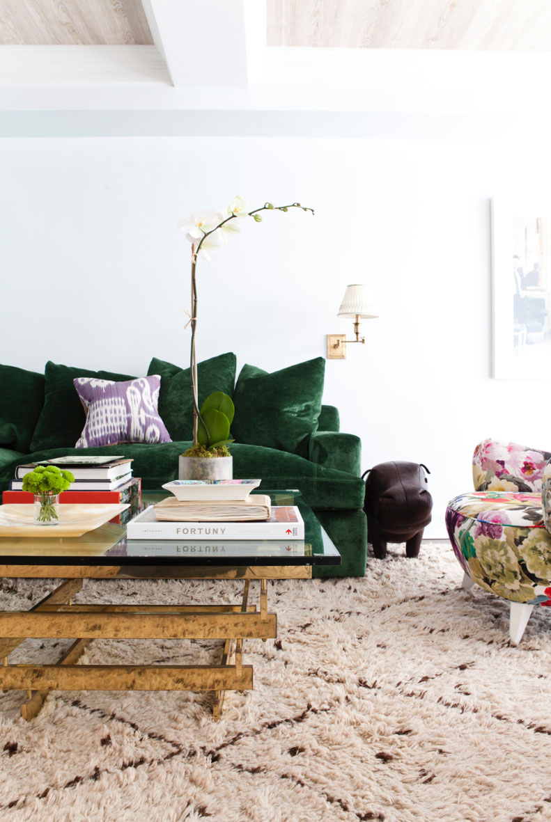 Lilly Bunn Interiors living room_green couch