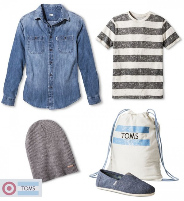MENS TOMSforTarget