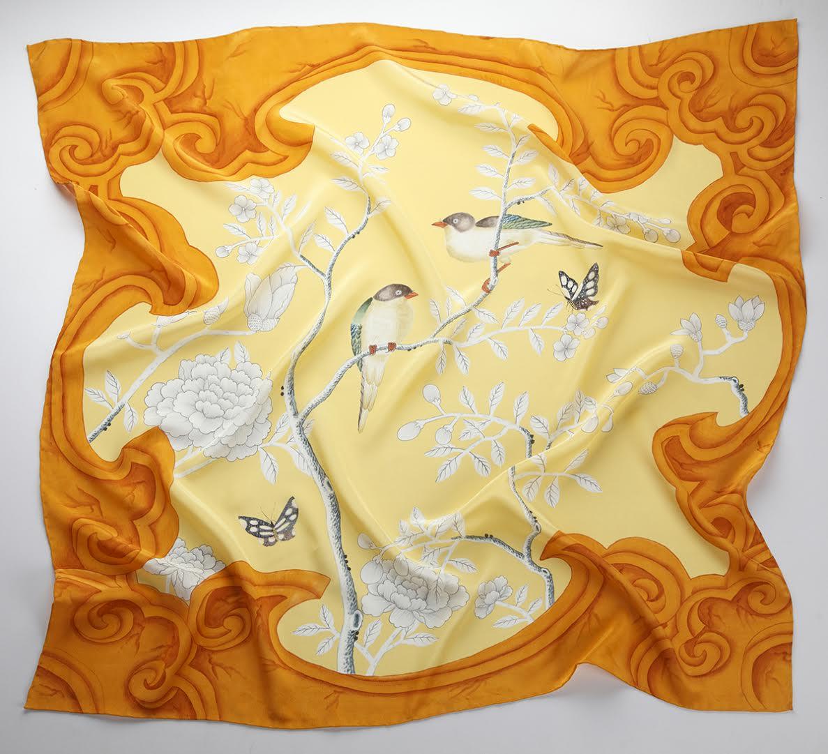 Met Gala Store - Silk Scarves by de Gournay