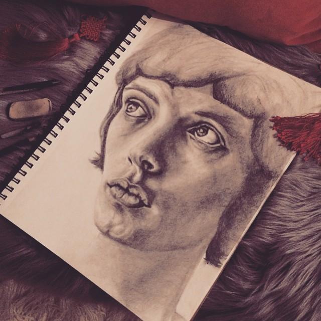 Mick Jagger_art_sketch