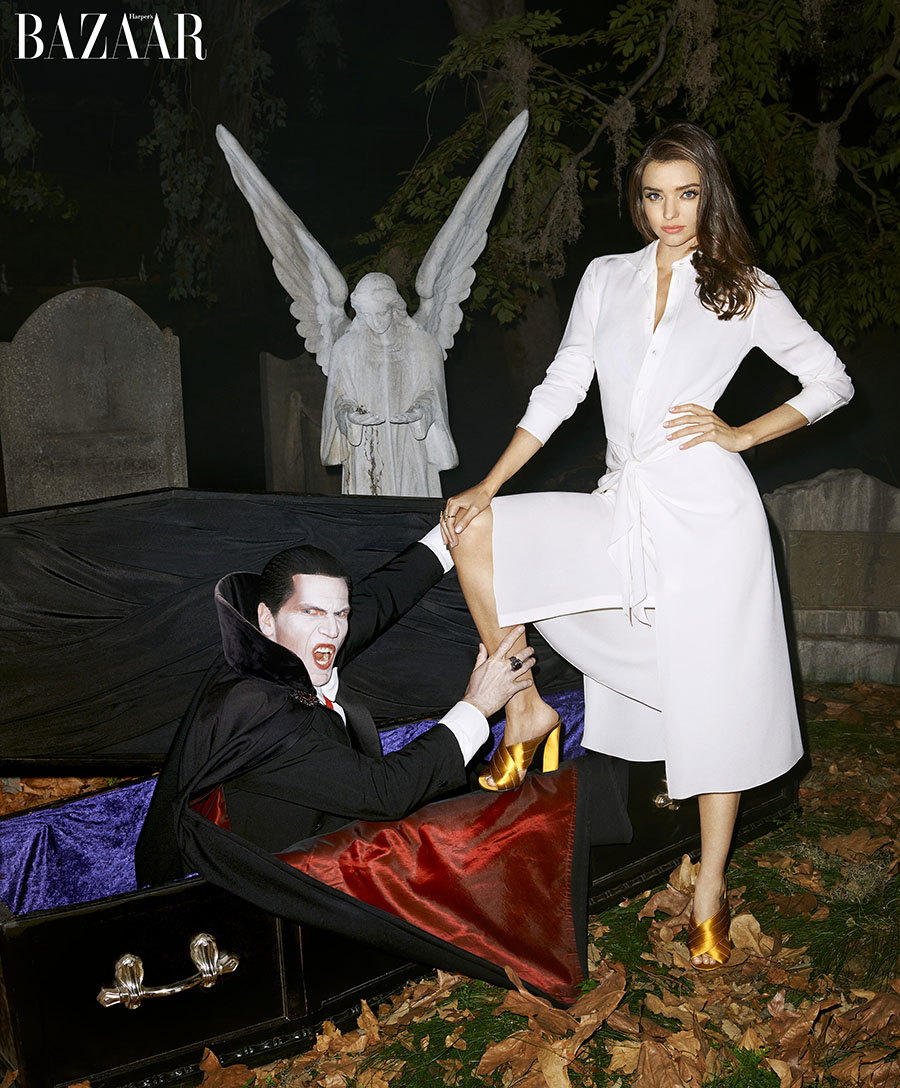 Miranda Kerr_Halloween_October_Bazaar-3