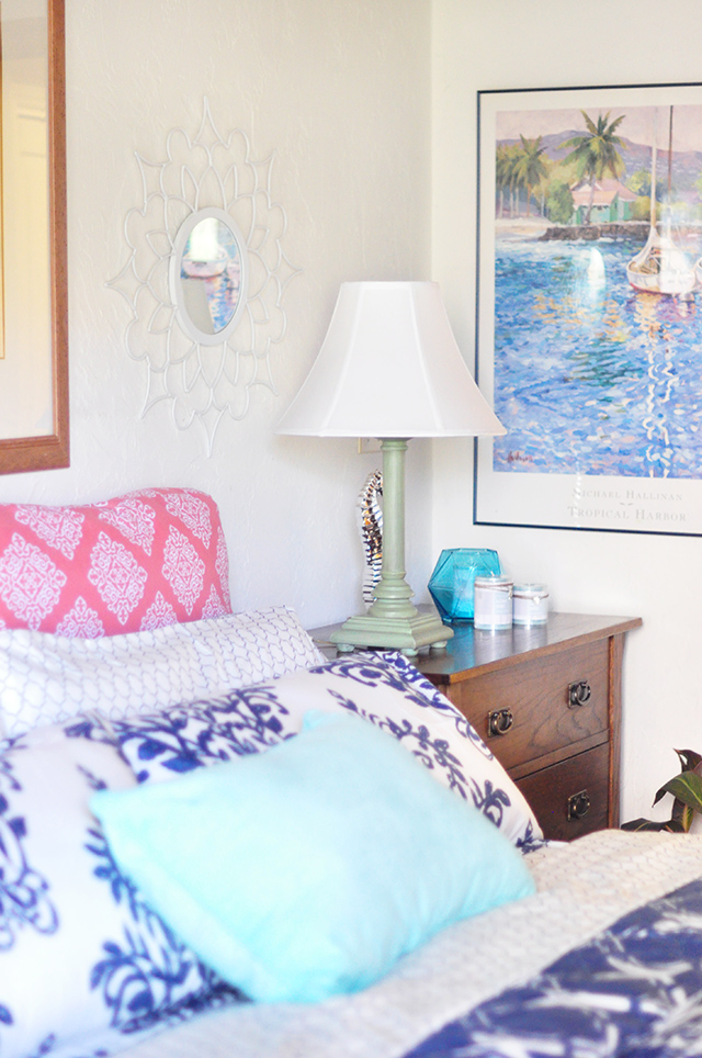 My Happy Place_Beachy Lakeside bedroom makeover_1