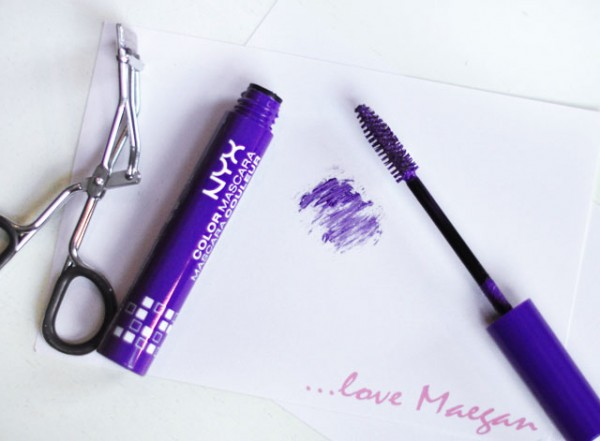NYX colored mascara review