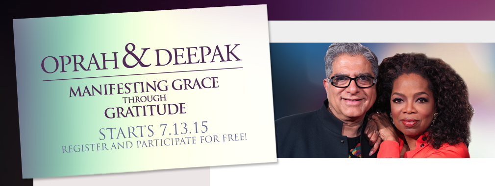 Oprah and Deepak free meditation