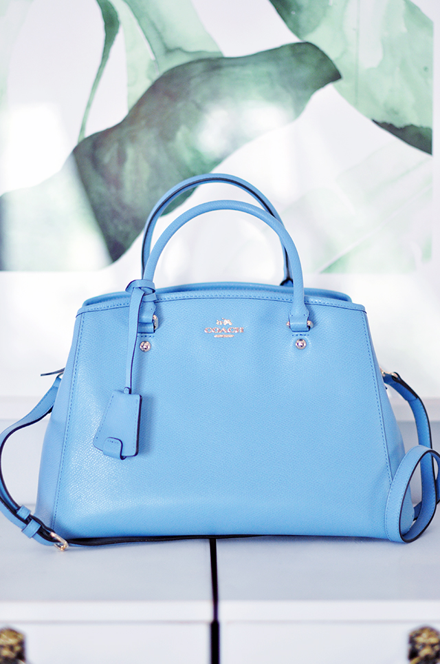 Pantone blue Coach bag_Spring 2016