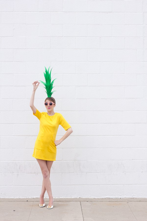 Pineapple-Costume-DIY