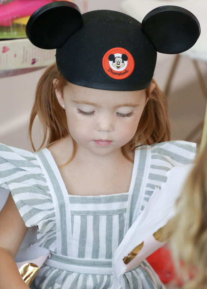 adorable vintage disney kids birthday party