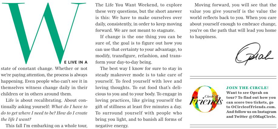 O Magazine / Sept 2014