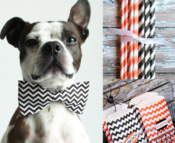 Cute Chevron Halloween Ideas