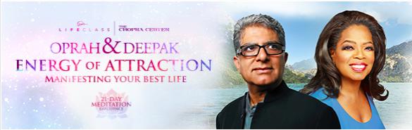 Oprah and Deepak Free Meditation Experience