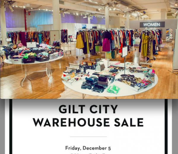 GILT City LA Warehouse Sale