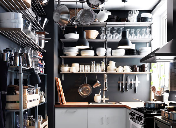 Overhead Kitchen Storage Ideas