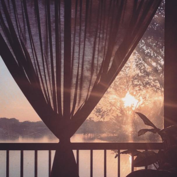 dreamy lake view