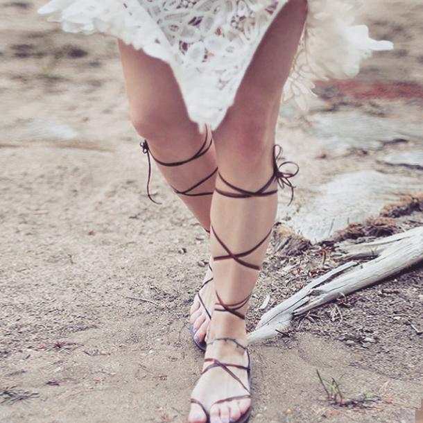 diy gladiator sandals