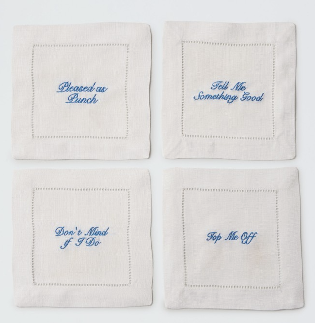Southern Cocktail napkins