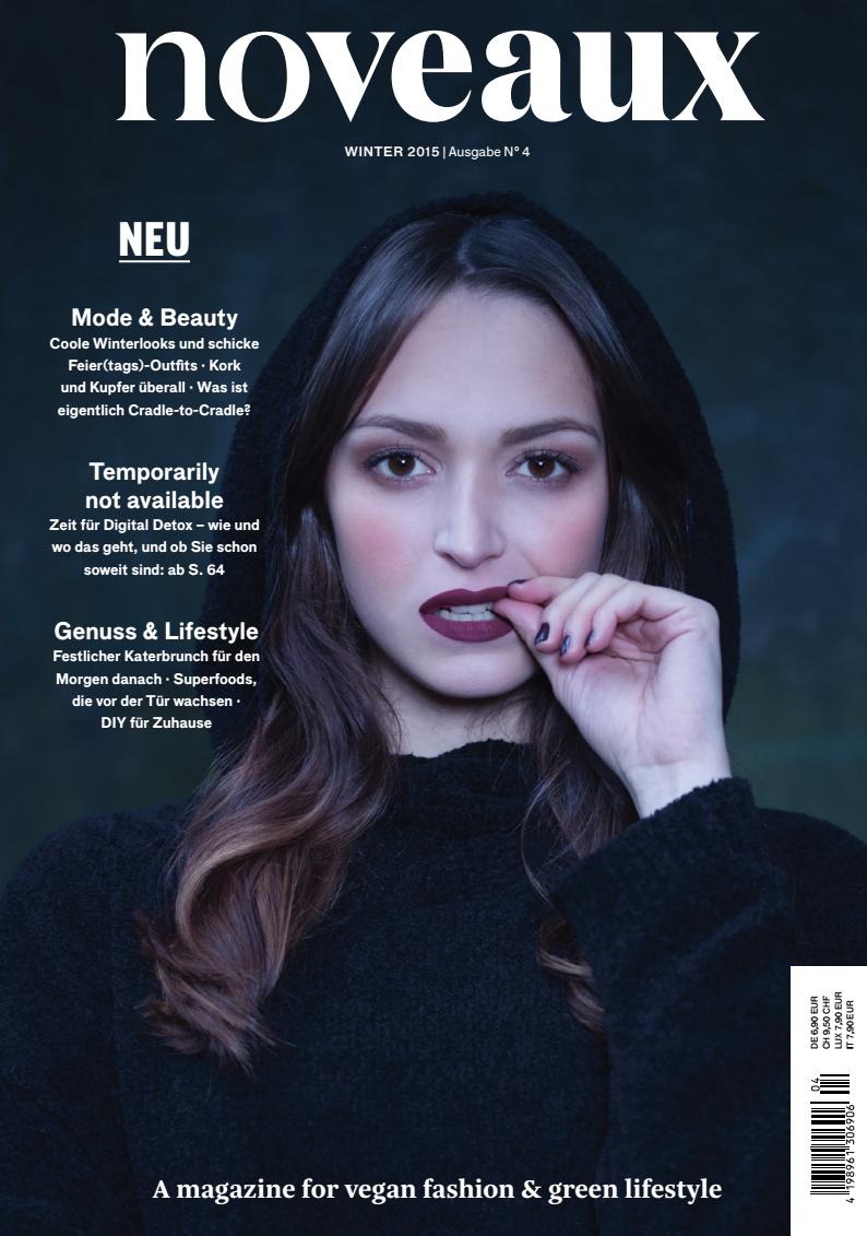 Noveaux Magazine Featuring DIY Gold Branch Hair Pins