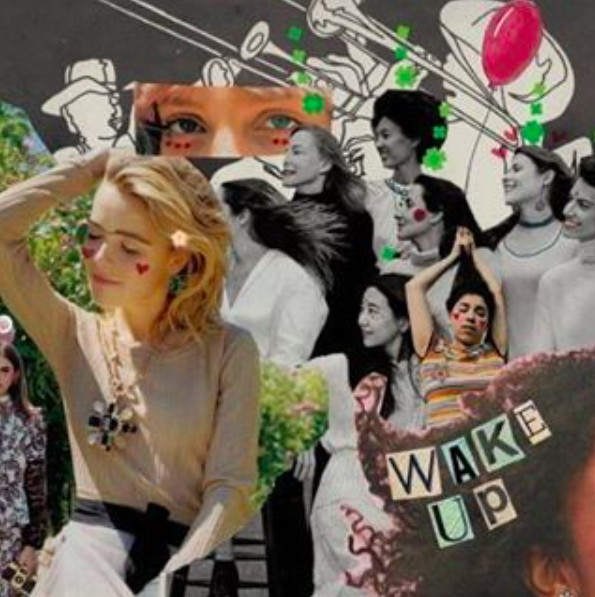 Wake UP / Rookie Mag collage