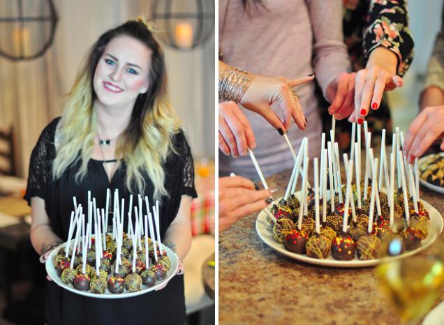 Cake pops for Fall