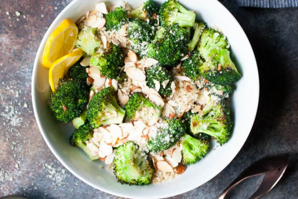 Healthy Lunch Ideas & side dishes Broccoli-Quinoa-Salad