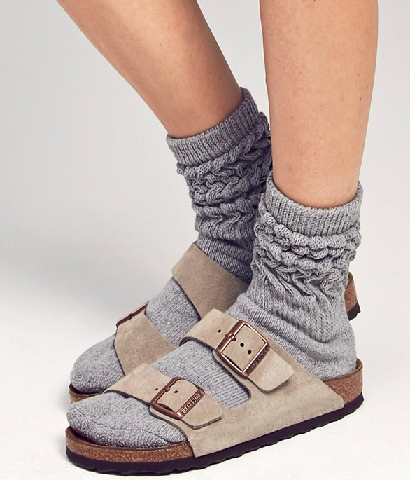 Birkenstocks and socks