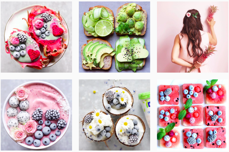 Food or Art? Breakfast bowls & smoothies too pretty to eat!