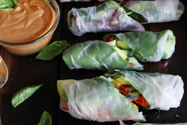 Fresh Summer Rolls - Veggie Recipes