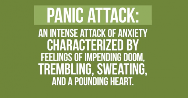 the cure for panic and anxiety attacks