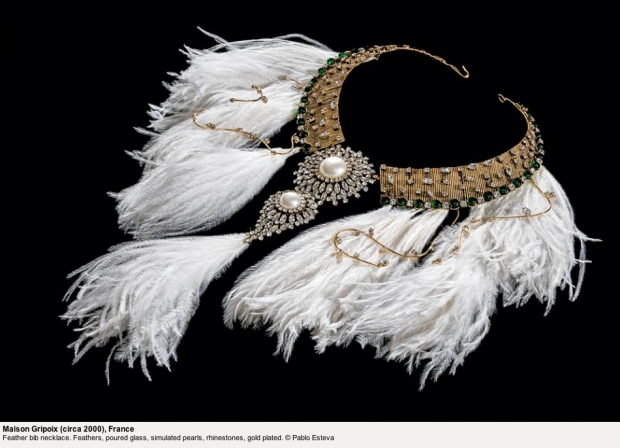 Jewels | Maison Gripois feather necklace