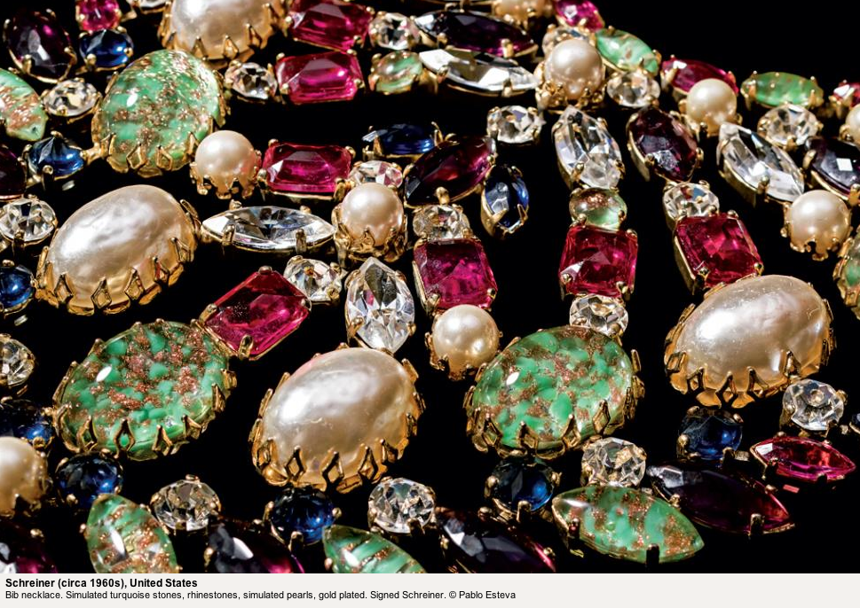 Jewels | Schriner bib necklace from the 60s