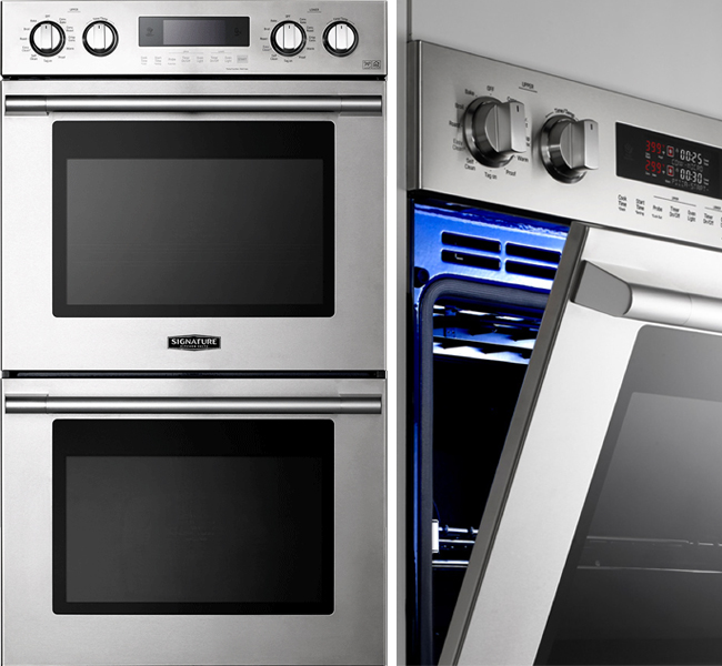 Signature suite double wall oven