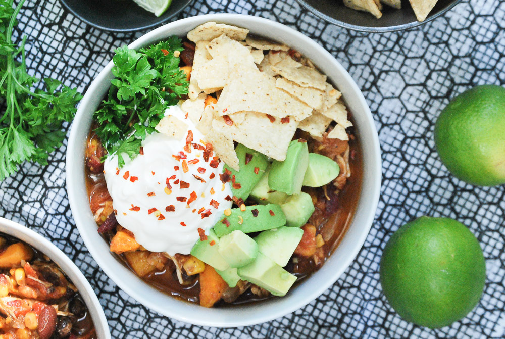 Slow-Cooker-Sweet-Potato-and-Chicken-Chili-5