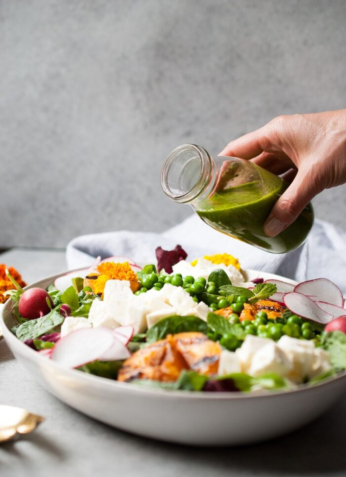 Spring-Pea-Salad-w-Grilled-Apricots-Feta-3