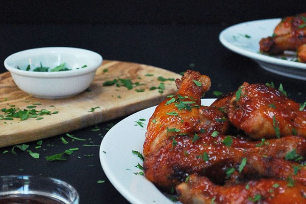 Sticky Sweet Chili Chicken Wings