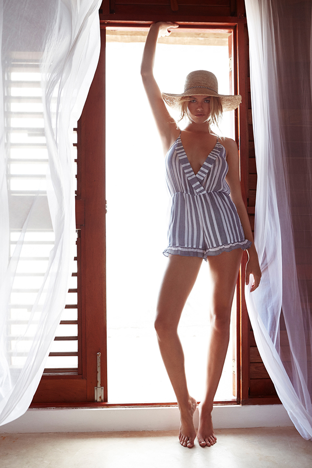Summer Style_Tularosa_striped romper