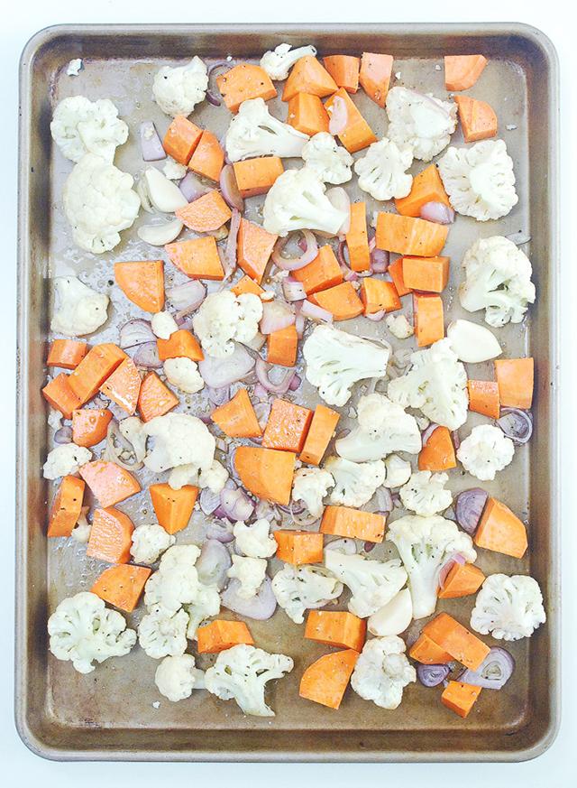 Sweet Potato-Cauliflower Soup1
