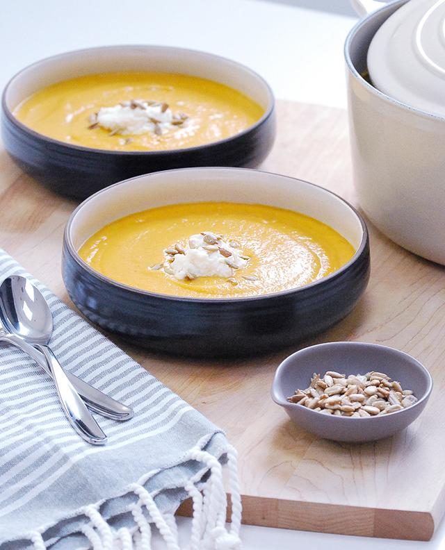Sweet Potato-Cauliflower Soup4