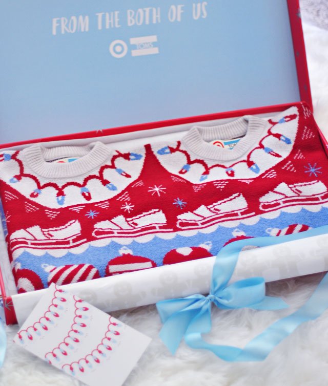 TOMS Target Together Sweater boxed