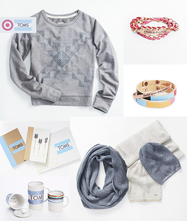 TOMSforTarget holiday gifts