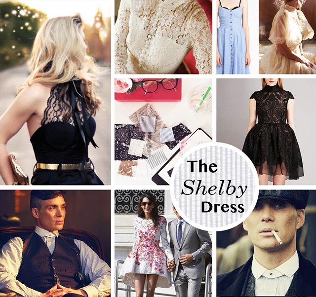 The Shelby Dress Mood Board_love Maegan