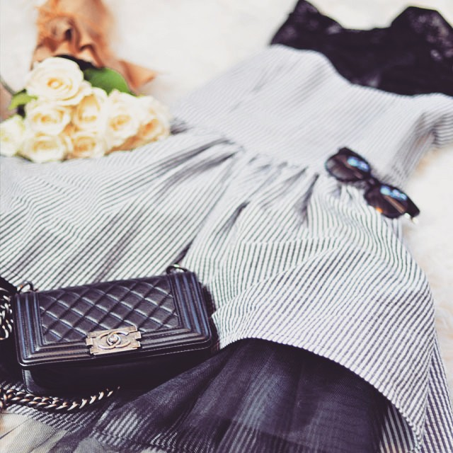 The Shelby Dress_Chanel Boy Bag