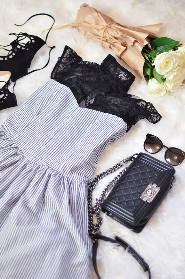 The Shelby Dress_with accessories