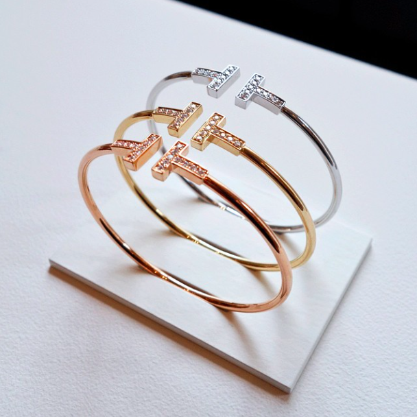 Tiffany and Co. T collection rings and bracelets-2